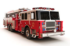 Custom formulated epoxies for emergency vehicle equipment