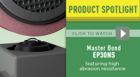 Master Bond Epoxy System EP30NS Featuring Advanced Abrasion Resistance